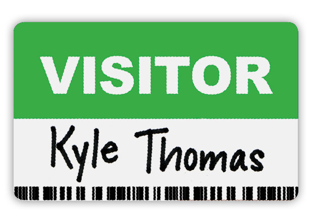 visitor tags