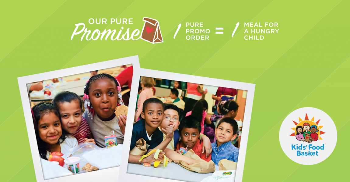 Pure Promise - A Meal for A Hungry Child