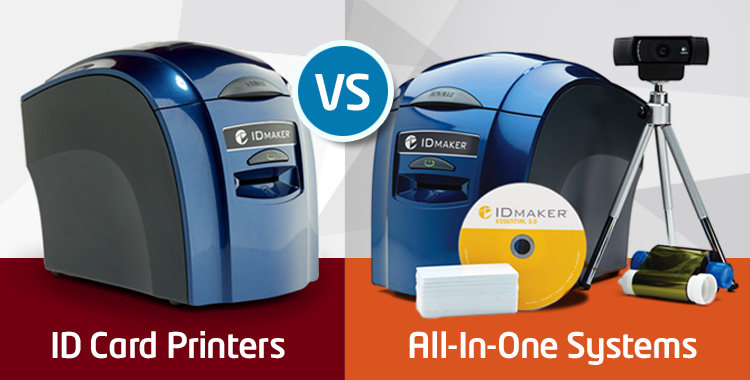 ID Card Printer vs. System