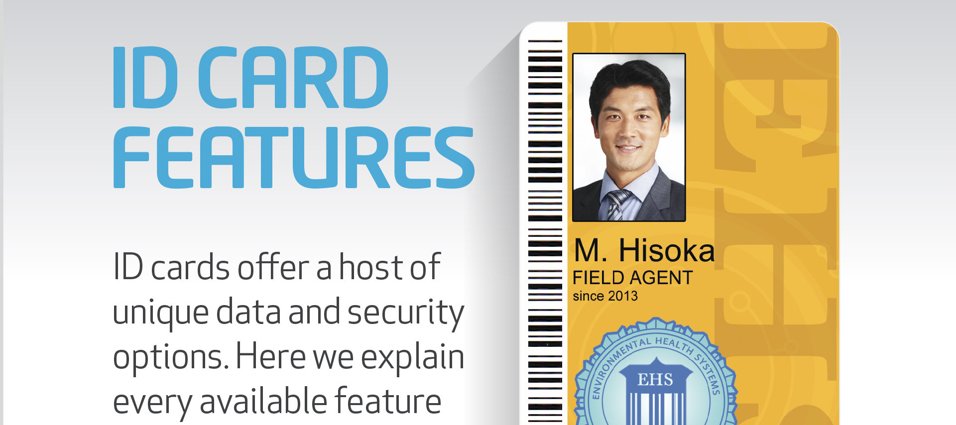 Blog post explaining all the available ID card features