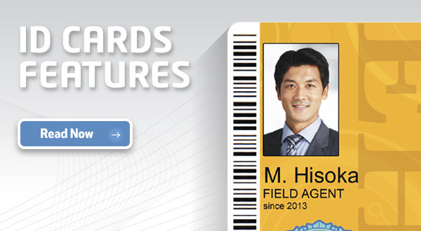 ID Card Features Infographic
