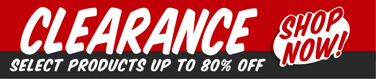 Clearance Products up to 80% off