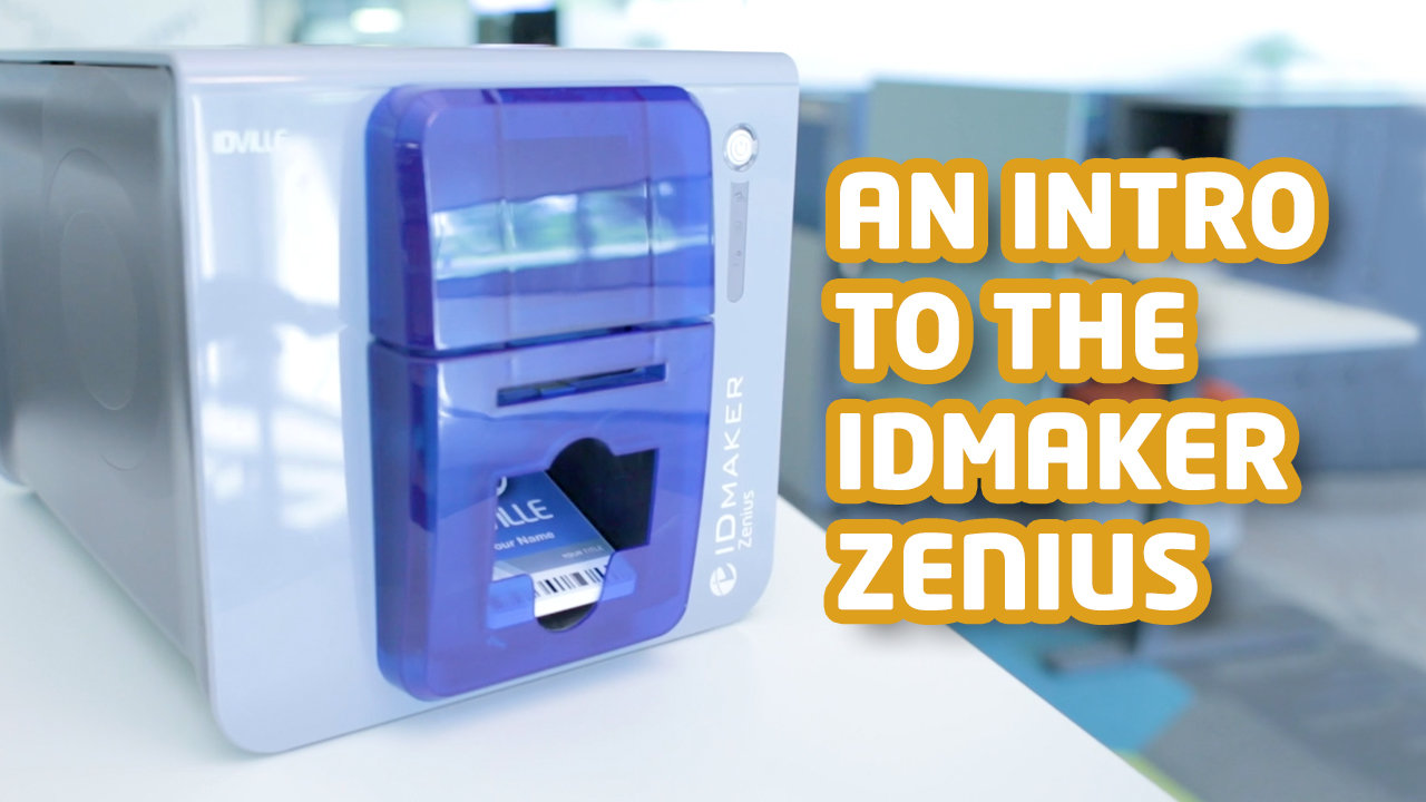 An introduction to the id maker Zenius ID card printer.
