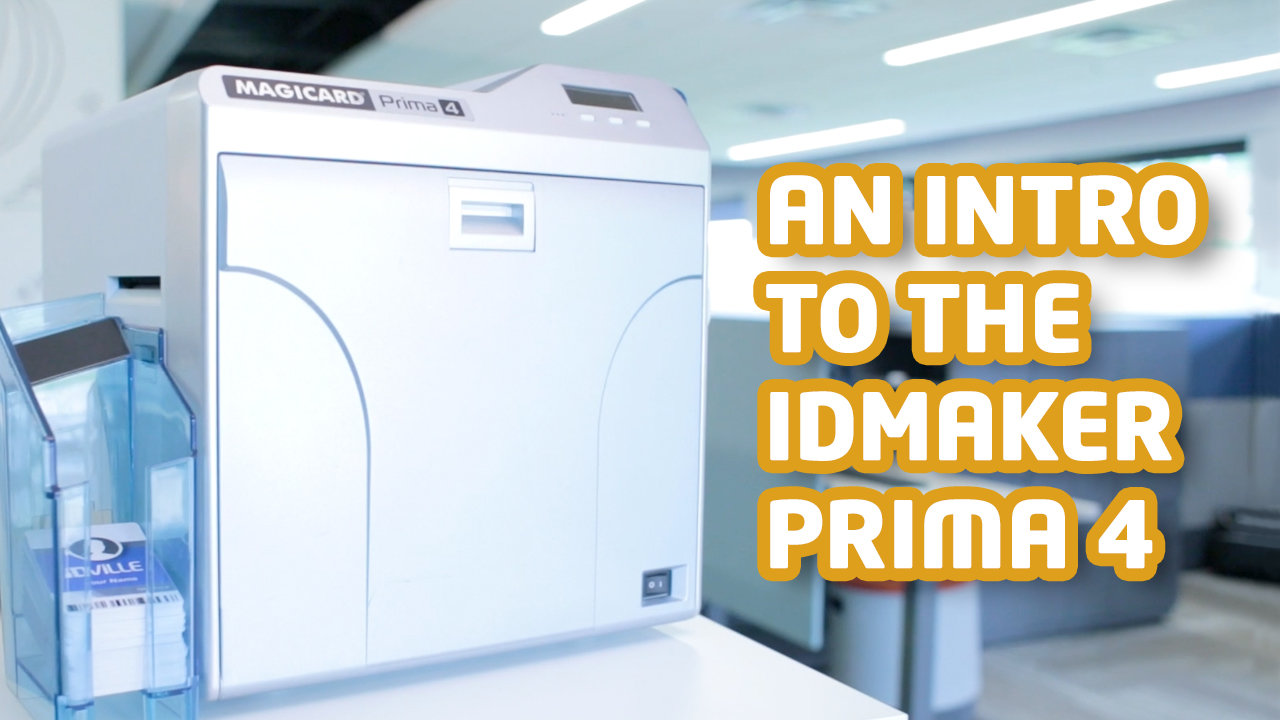 An Intro to the ID Maker Prima 4 ID Card Printer